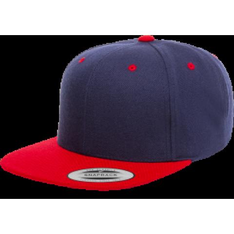 Кепка FlexFit Classic Snapback Navy/Red