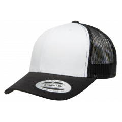 Кепка FlexFit 6606W Retro Trucker - Black/White/Black