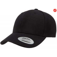 Кепка FlexFit Curved Visor Snapback Black