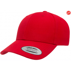 Кепка FlexFit Curved Visor Snapback Red