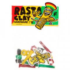 "Винты для скейта Footwork 1"" - Rasta"