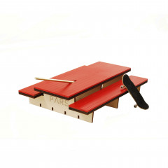 Фингерпарк PARS P-Table деревянный красный верх
