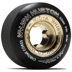 Колеса для скейта RICTA Nyjah Huston Chrome Core Black Gold 99a 53mm