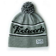 Шапка Footwork POM-PON LIGHT GRAY MELANGE